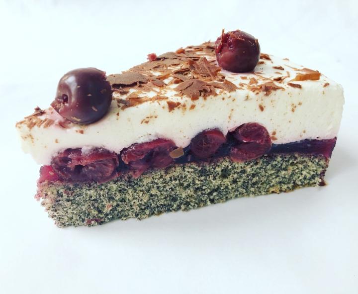 Mohn-Kirsch-Torte