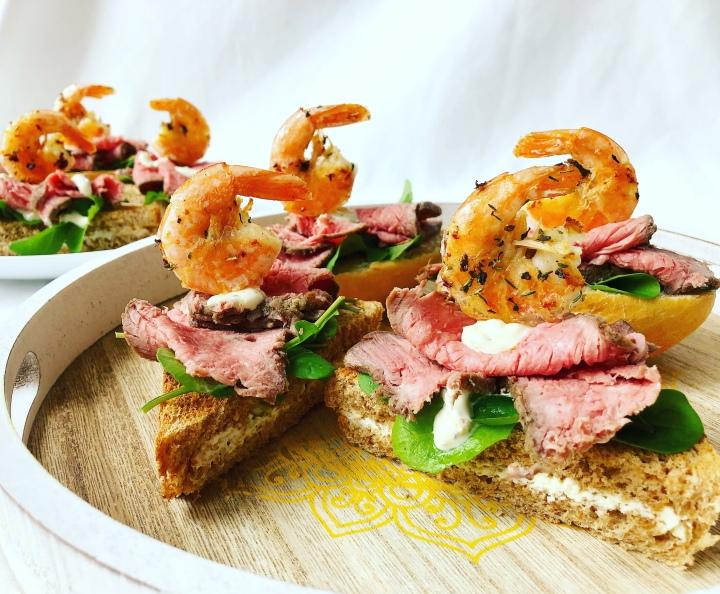 Surf'n'Turf – Sandwich